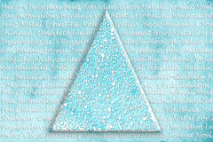 Christmas tree card in many languages Royalty Free Stock Photo