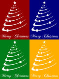 Christmas Tree Cards Stock Photo
