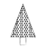 Christmas tree cartoon Royalty Free Stock Photos