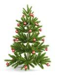 Christmas tree with christmas balls Royalty Free Stock Photography
