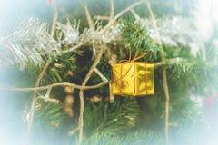 Christmas tree with christmas decorations Stock Photo