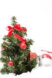 Christmas Tree and Christmas decorations Stock Images