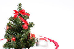 Christmas Tree and Christmas decorations Royalty Free Stock Photography