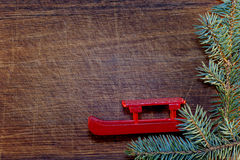 Christmas tree with Christmas decorations Stock Photography