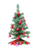 Christmas tree and christmas gifts Stock Photo
