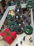 Christmas tree. Decorations Phoenix mall Royalty Free Stock Images