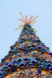 Christmas tree. Christmastree on christmas market in Wroclaw, Poland Royalty Free Stock Image