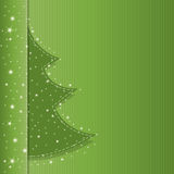 Christmas tree classic brochure Stock Photos