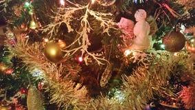 CHRISTMAS tree Close up Stock Image