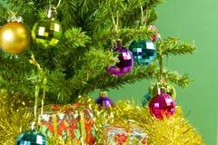 Christmas tree close up Stock Photography