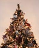 Christmas tree closeup royalty free stock images