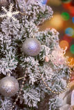 Christmas tree closeup Royalty Free Stock Photography