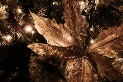 Christmas tree closeup - detail royalty free stock photos