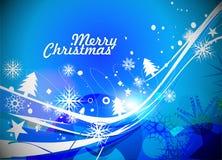 Christmas tree  colorful design Stock Image