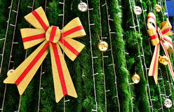 Christmas tree. With colorful ornaments Royalty Free Stock Photo