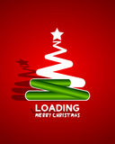 Christmas tree concept Stock Images