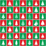 Christmas tree concept silhouette design. Vector. Royalty Free Stock Photography