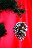 Christmas tree with cone Royalty Free Stock Photos