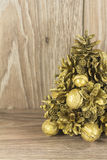 Christmas tree from the cones Stock Image