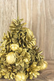 Christmas tree from the cones Royalty Free Stock Images