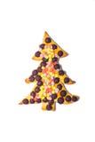 Christmas tree cookie Royalty Free Stock Photo
