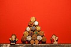 Christmas tree cork Stock Photography