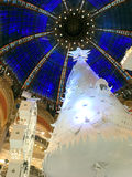 Christmas tree and cupola Stock Photos
