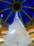 Christmas tree and cupola Royalty Free Stock Images