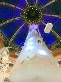 Christmas tree and cupola Stock Image