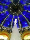 Christmas tree and cupola Royalty Free Stock Image