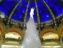 Christmas tree and cupola Stock Photography