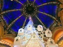 Christmas tree and cupola Stock Photo
