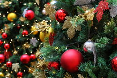 Christmas tree deco Stock Photo