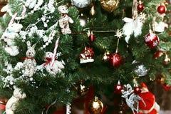 Christmas tree decor macro Stock Photography