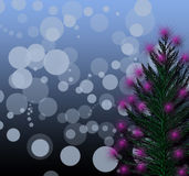 Christmas tree decorated Royalty Free Stock Photos