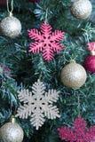 Christmas tree decorated Royalty Free Stock Photos