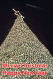 Christmas tree decorated. Stock Images