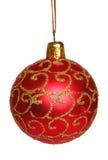 Christmas tree decoration. White background royalty free stock photos