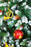 Christmas Tree Decoration. Royalty Free Stock Photos