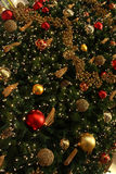 Christmas Tree Decoration. A detail of Christmas Tree decoration at a shopping center Stock Images