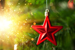Christmas-tree decoration Royalty Free Stock Photo