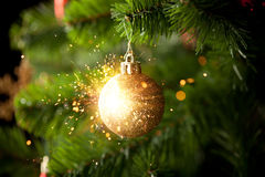 Christmas-tree Decoration Stock Photos