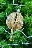 Christmas tree with decoration Stock Photos