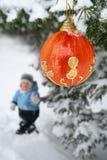 Christmas Tree Decoration Royalty Free Stock Photos