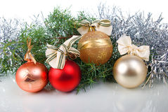 Christmas tree decoration Royalty Free Stock Photo