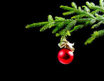 Christmas tree decoration Royalty Free Stock Images