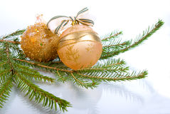 Christmas tree decoration Royalty Free Stock Photos