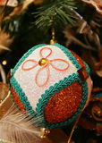 Christmas-tree decoration. Preparation for Christmas royalty free stock image