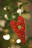 Christmas tree decoration Stock Images