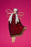 Christmas tree decoration - angel Royalty Free Stock Photos